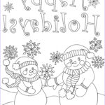 Printable Christmas Coloring Pages Elegant Images Happy Family Art Original And Fun Coloring Pages