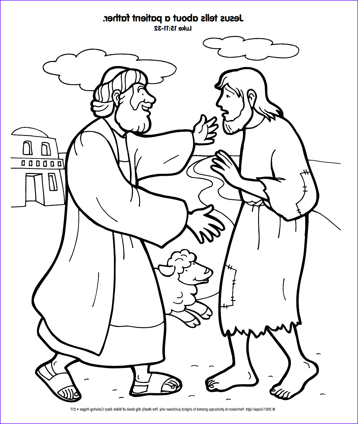 Prodical son Coloring Pages Unique Photos Free Christian Coloring Pages the Parables