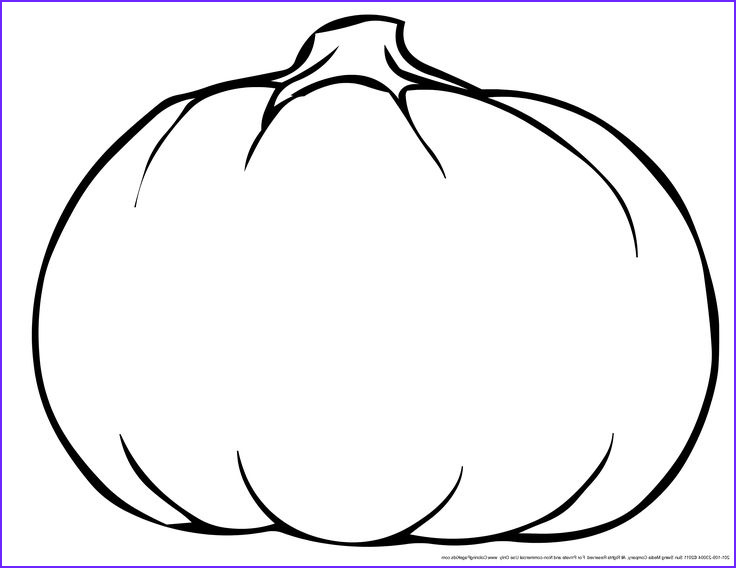 Pumpkin Coloring Sheets Luxury Collection This is Best Pumpkin Outline Printable Coloring