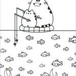 Pusheen The Cat Coloring Pages Beautiful Collection Pusheen Coloring Pages Best Coloring Pages For Kids