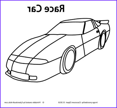 race car coloring page 2011 10 14