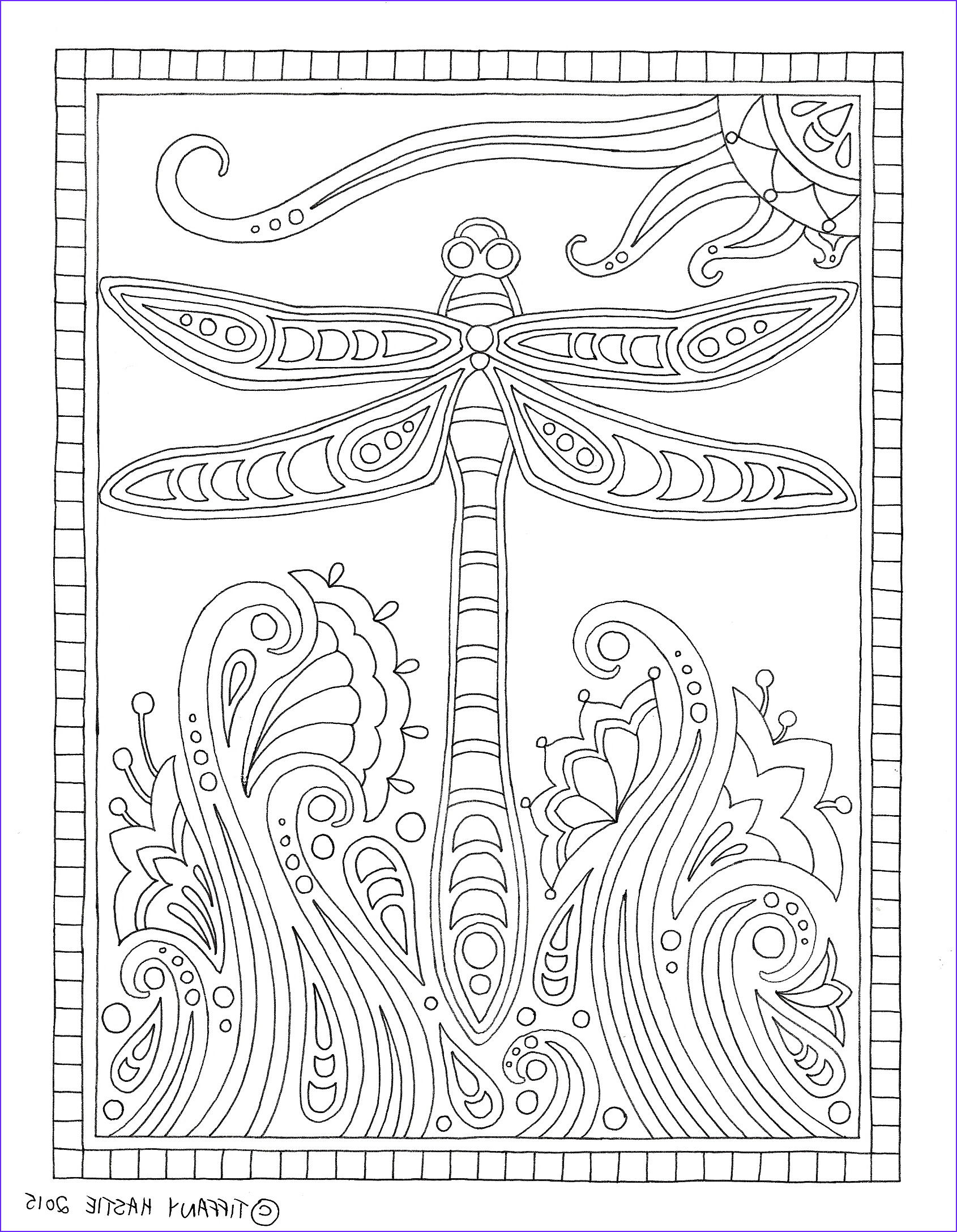 Free colouring pages for adults Print – colour – relax