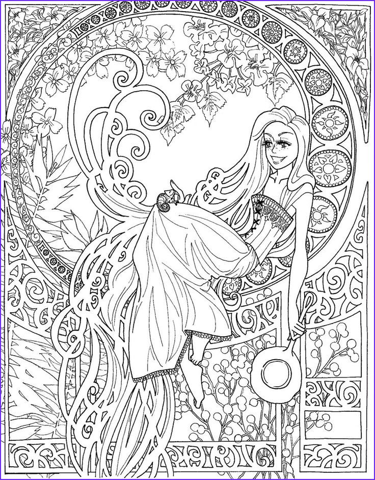 Art Therapy 47 Relaxation – Printable coloring pages