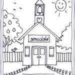 School Coloring Pages Beautiful Collection Coloring Pages School House