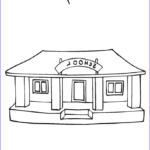 School Coloring Pages Best Of Photos I Love My School Coloring Page Twisty Noodle