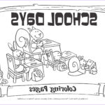 School Coloring Pages Cool Photography My Little House School Days Coloring Pages