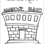 School Coloring Pages Cool Photos High School Coloring Page Twisty Noodle