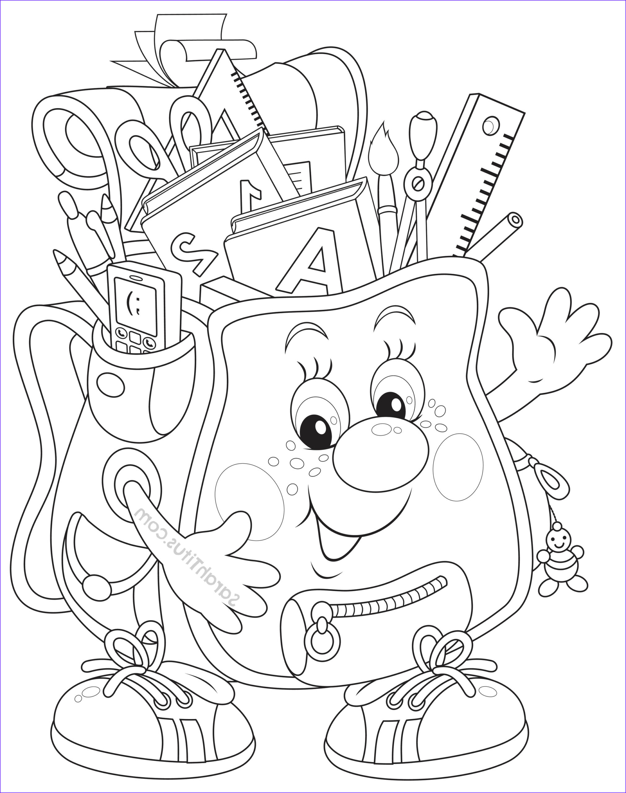 School Coloring Pages New Photography Back to School Coloring Pages Sarah Titus