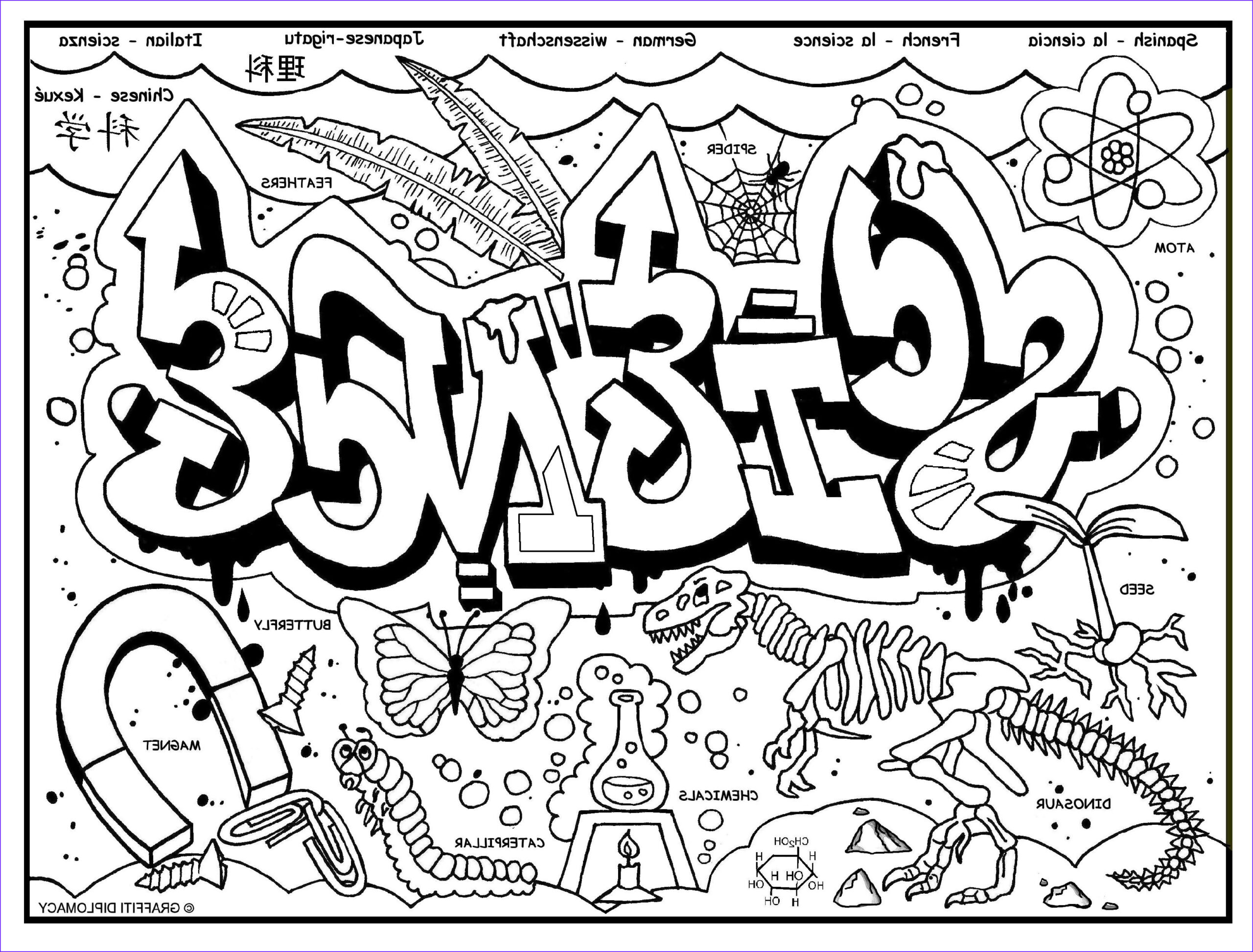Science Coloring Pages Inspirational Photography Graffiti Diplomacy Store