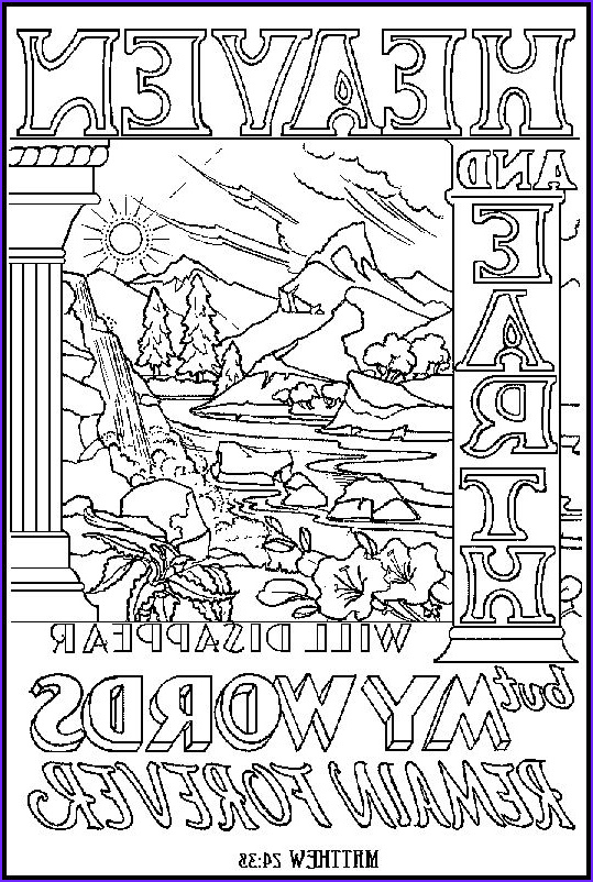 Scripture Coloring Pages for Adults Beautiful Stock Illustration Of Matthew 24 38 From Abda Acts Art and