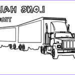 Semi Coloring Awesome Images Tractor Trailer Coloring Page Sketch Coloring Page
