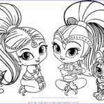 Shimmer And Shine Coloring Pages Best Of Photos Shimmer And Shine Coloring Page