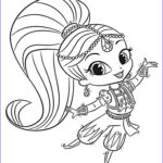 Shimmer And Shine Coloring Pages Inspirational Image Shimmer And Shine Coloring Pages Best Coloring Pages For