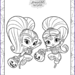 Shimmer and Shine Coloring Pages Luxury Photos 30 Magical Shimmer and Shine Coloring Pages