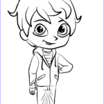 Shimmer And Shine Coloring Pages Unique Photos Zac From Shimmer And Shine Coloring Page