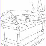 Sofa Coloring Best Of Photos Couch Sofa Coloring Pages