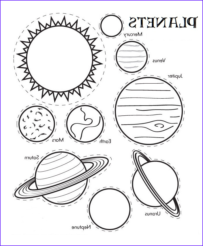 Solar System Coloring Beautiful Collection Free Printable solar System Coloring Pages for Kids