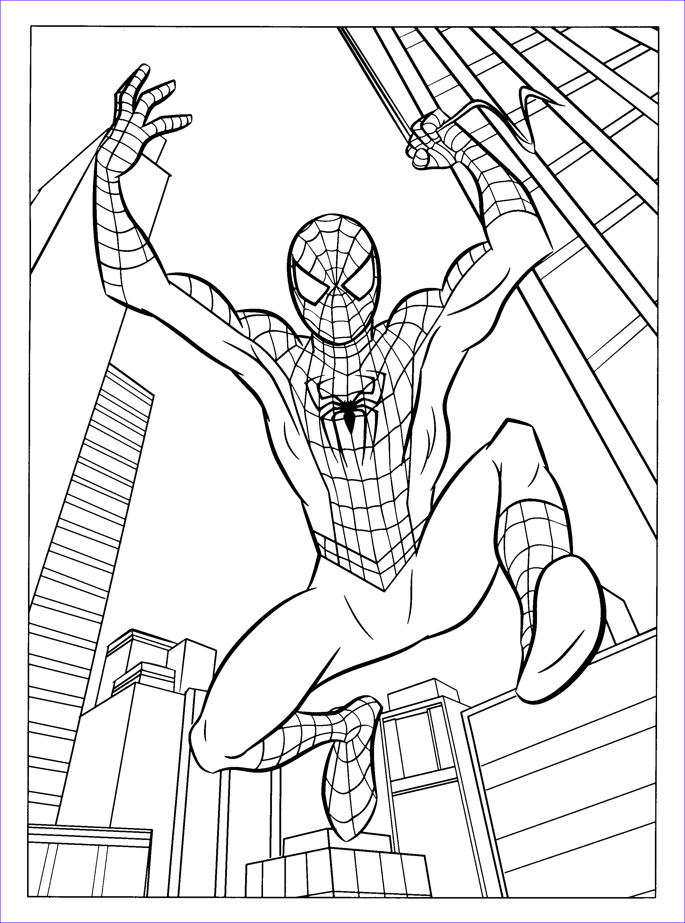 Spiderman Coloring Beautiful Image Free Printable Spiderman Coloring Pages for Kids