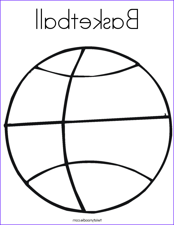 Sports Coloring Book Cool Photos Basketball Coloring Page Twisty Noodle