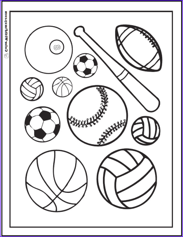 Sports Coloring Book Unique Photos 121 Sports Coloring Sheets Customize and Print Pdf