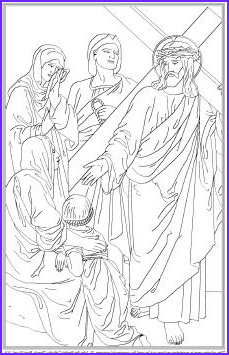 Catholic Icing Printable Stations of the Cross for Children