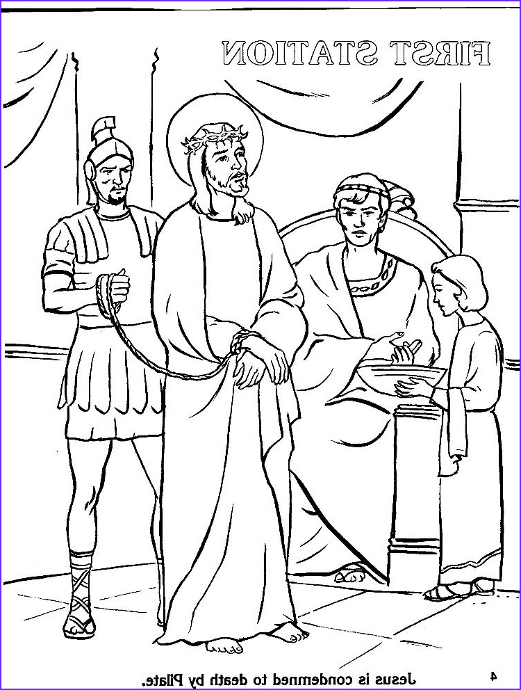 Stations Of the Cross Coloring Pages Best Of Images Coloring Page Stations the Cross Coloring Home