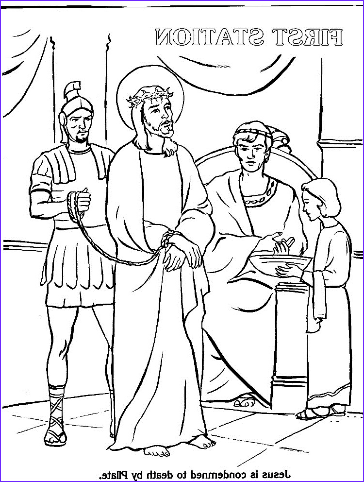 Stations Of the Cross Coloring Pages Best Of Photos Stations the Cross Coloring Pages Az Coloring Pages