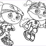 Super Coloring Elegant Image Super Why Coloring Pages Best Coloring Pages For Kids