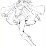 Super Coloring Elegant Stock Supergirl Coloring Pages Best Coloring Pages For Kids