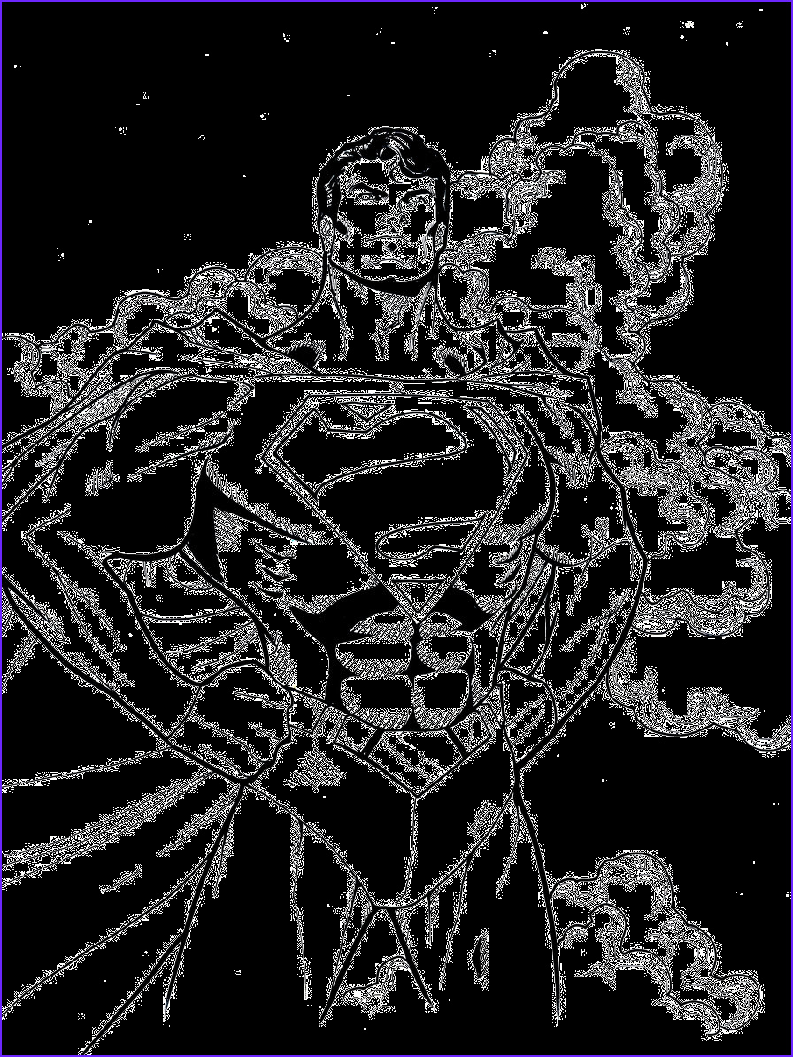 Super Coloring Inspirational Images Superman Cool Coloring Pages