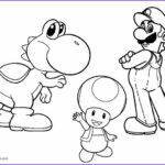 Super Mario Coloring Page Beautiful Collection Printable Yoshi Coloring Pages for Kids