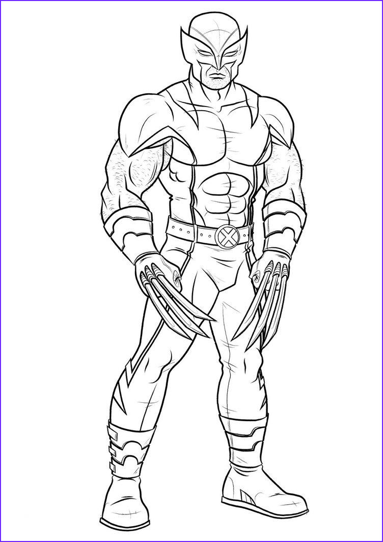 Superheroes Coloring Cool Image Marvel Coloring Pages Best Coloring Pages for Kids