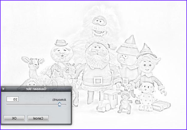 how to turn any picture into a coloring page