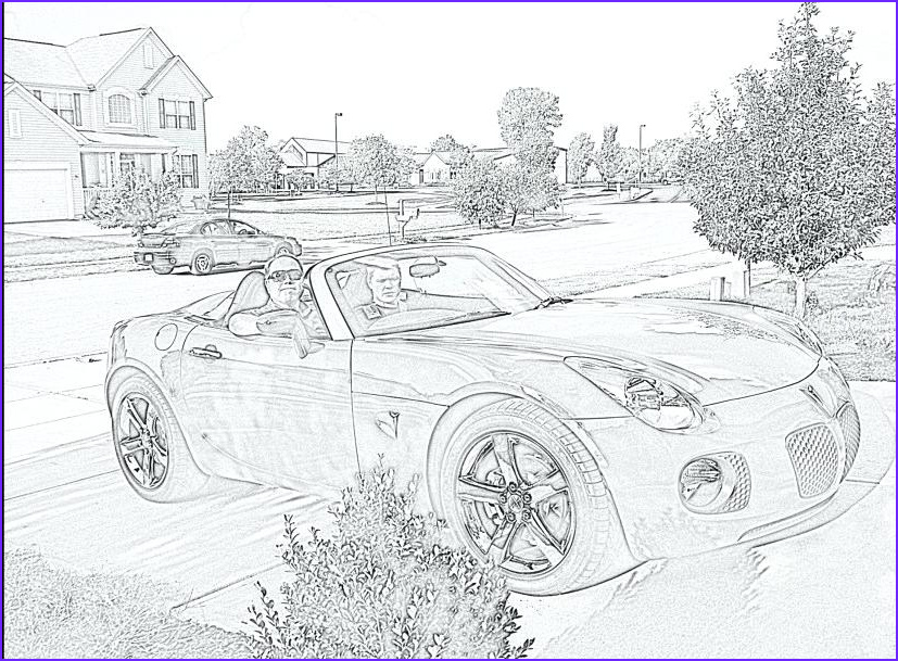 turning photos into coloring pages