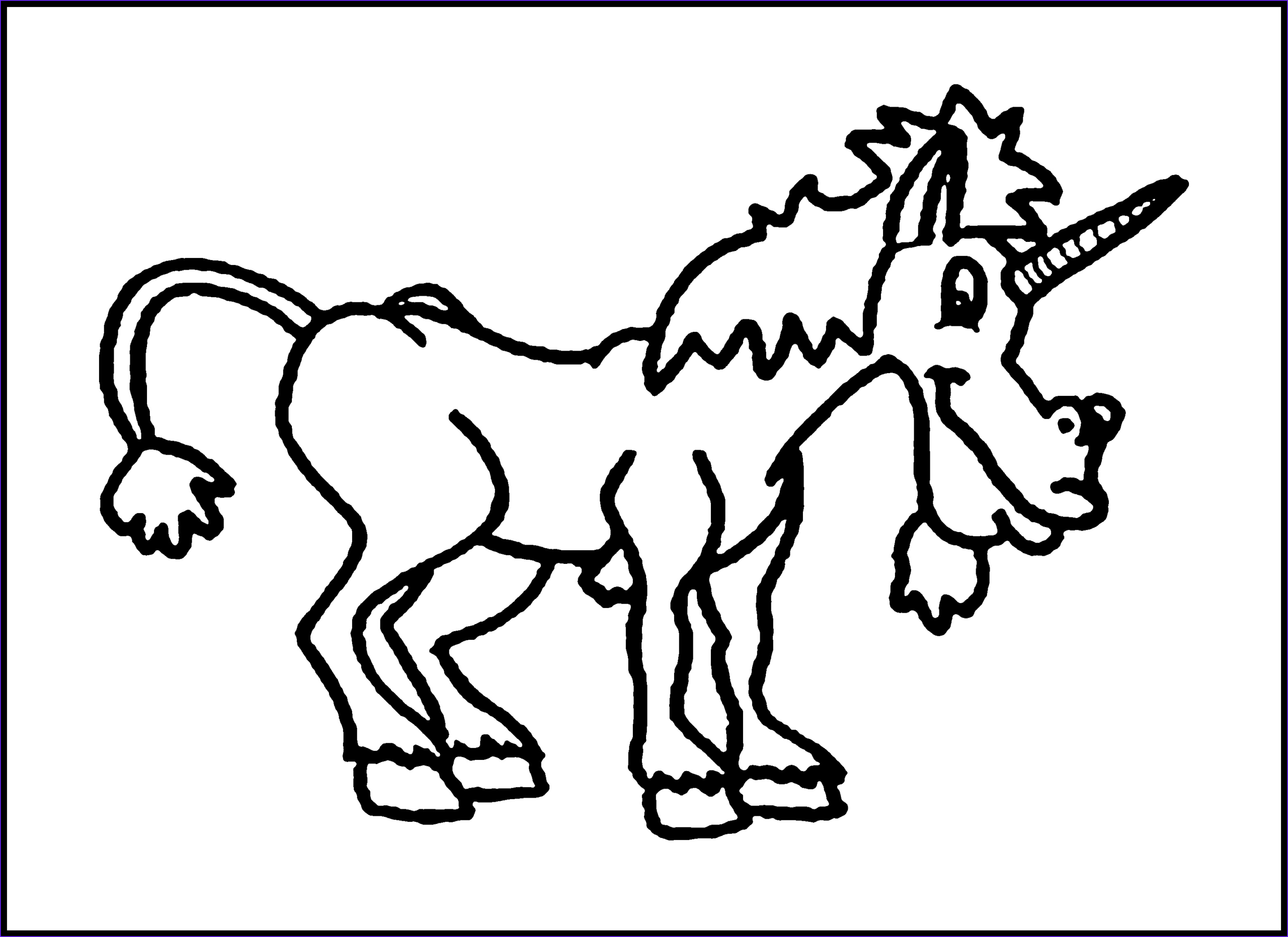 Unicorn Printable Coloring Pages New Gallery Free Printable Unicorn Coloring Pages for Kids