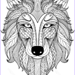 Zentangle Coloring Pages Inspirational Photos Wolf Zentangle Coloring Page