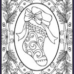 Adult Coloring Christmas Awesome Image Christmas Coloring Pages For Adults 2018 Dr Odd