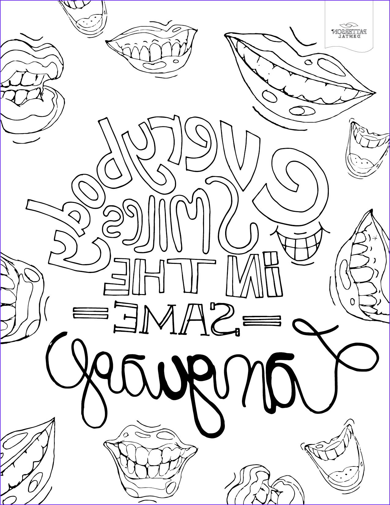 Adult Coloring Pages to Print Best Of Images 10 toothy Adult Coloring Pages [printable] F the Cusp