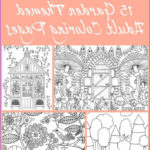 Adult Themed Coloring Book Best Of Image 15 Free Garden Themed Adult Coloring Pages