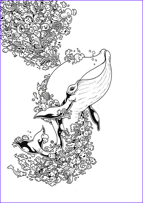free colouring pages sea theme