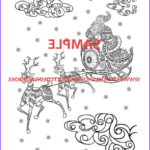 Adult Themed Coloring Book Luxury Collection 30 Christmas Themed Coloring Book Pages For Adults Christmas