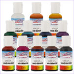 Airbrush Food Coloring Cool Image Us Cake Supply Air Mist 12 Primary Color 1 2oz Airbrush