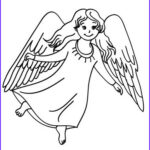 Angels Coloring Book Beautiful Image Angel Of God Coloring Pages Hellokids