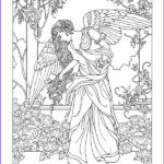 Angels Coloring Book Luxury Images Angel Fantasy Myth Mythical Legend Wings Warrior Valkyrie