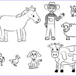 Animal Coloring Inspirational Collection Free Printable Farm Animal Coloring Pages For Kids
