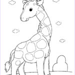 Animal Coloring Sheets Inspirational Gallery Free Printable Giraffe Coloring Pages For Kids