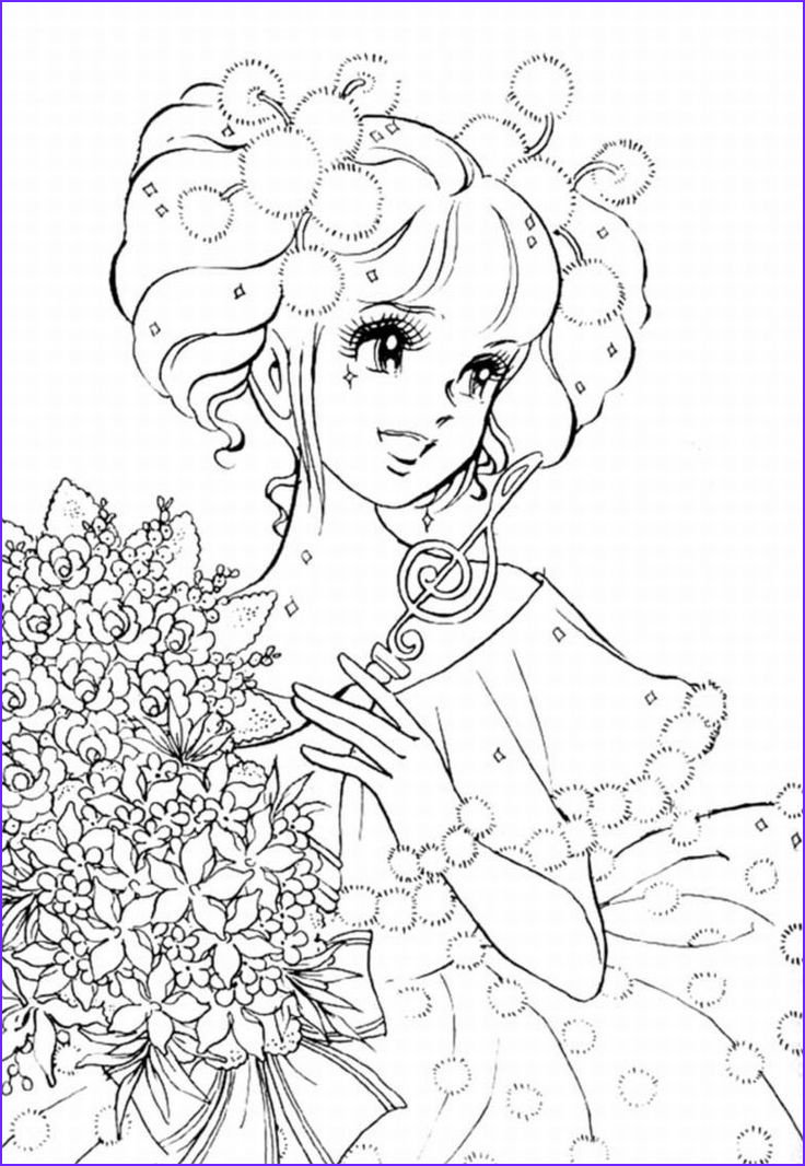 Anime Coloring Pages for Adults Unique Stock Pics Anime Girl