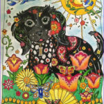 Artist Coloring Books Awesome Photos 13 Best Images About Dazzling Dogs Pleted Pages On