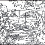 Artist Coloring Books Beautiful Gallery Van Gogh Pont De Clichy Masterpieces Adult Coloring Pages