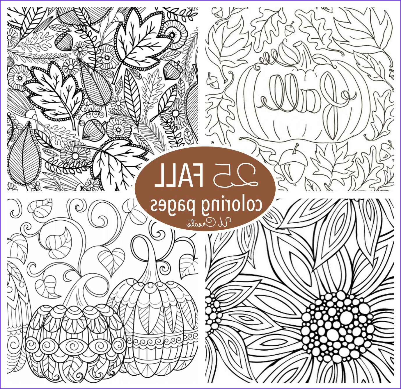 Autumn Coloring Pages Luxury Photos Free Fall Adult Coloring Pages U Create